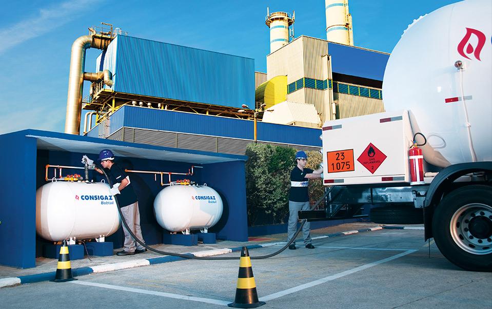 instalações de gás glp a granel