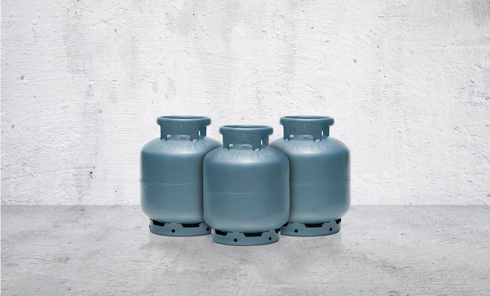 cilindro de gás botijão p13